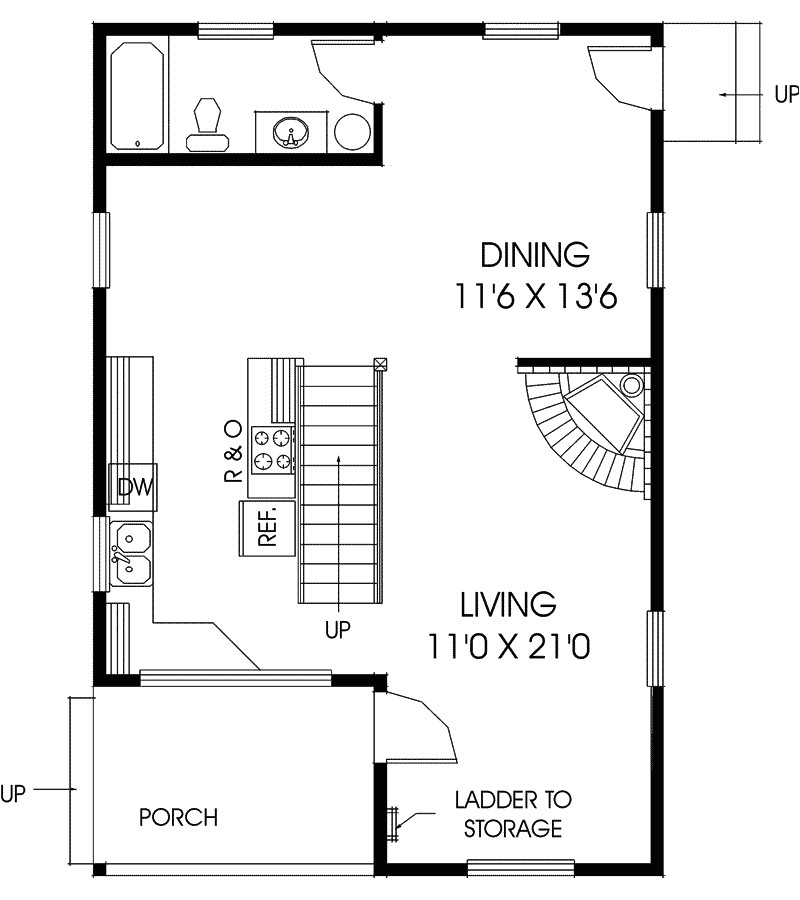 vacation home floor plans