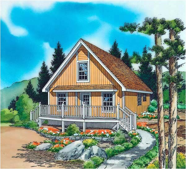 small vacation house plans