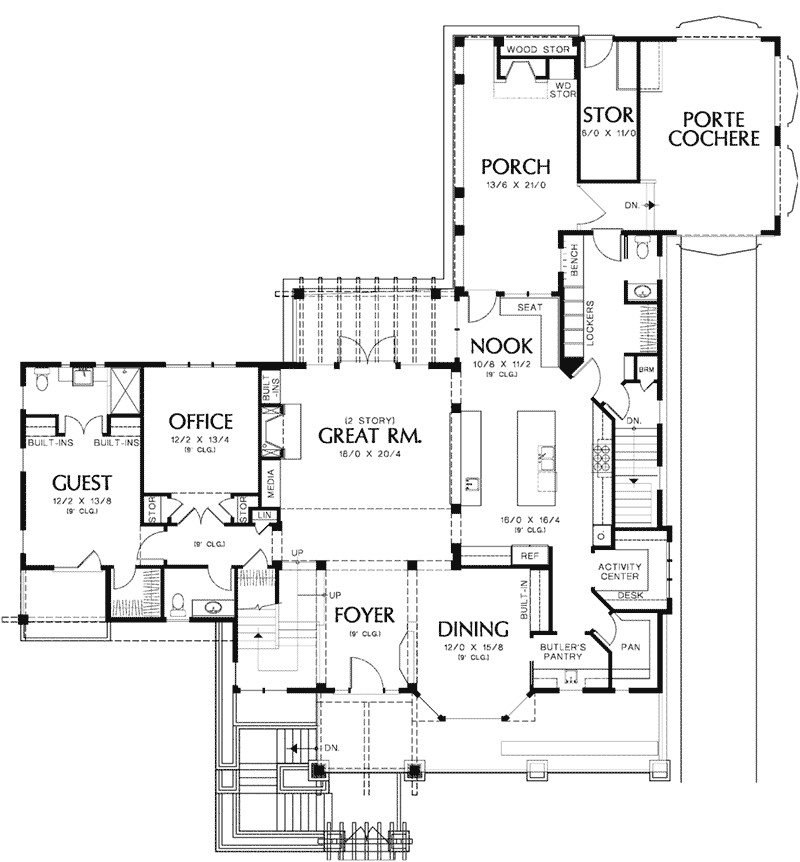 vacation house floor plans