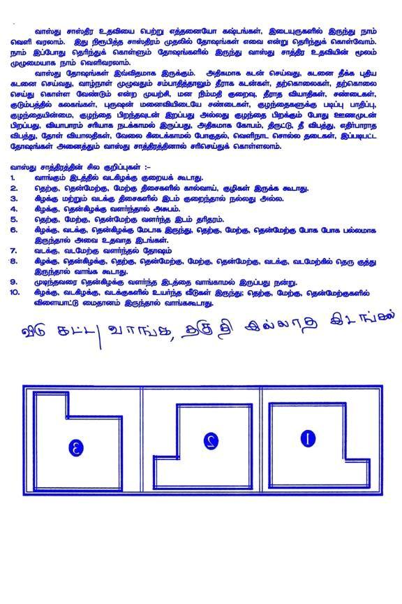 tamil vastu website