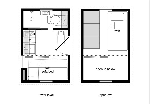 Very Small House Plans Free Michael Janzen S Quot Tiny House Floor