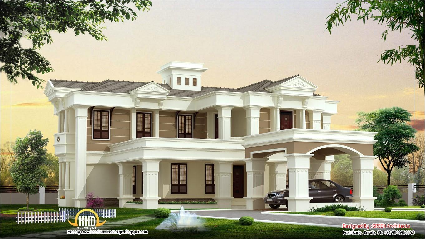 beautiful luxury villa design 4525 sq