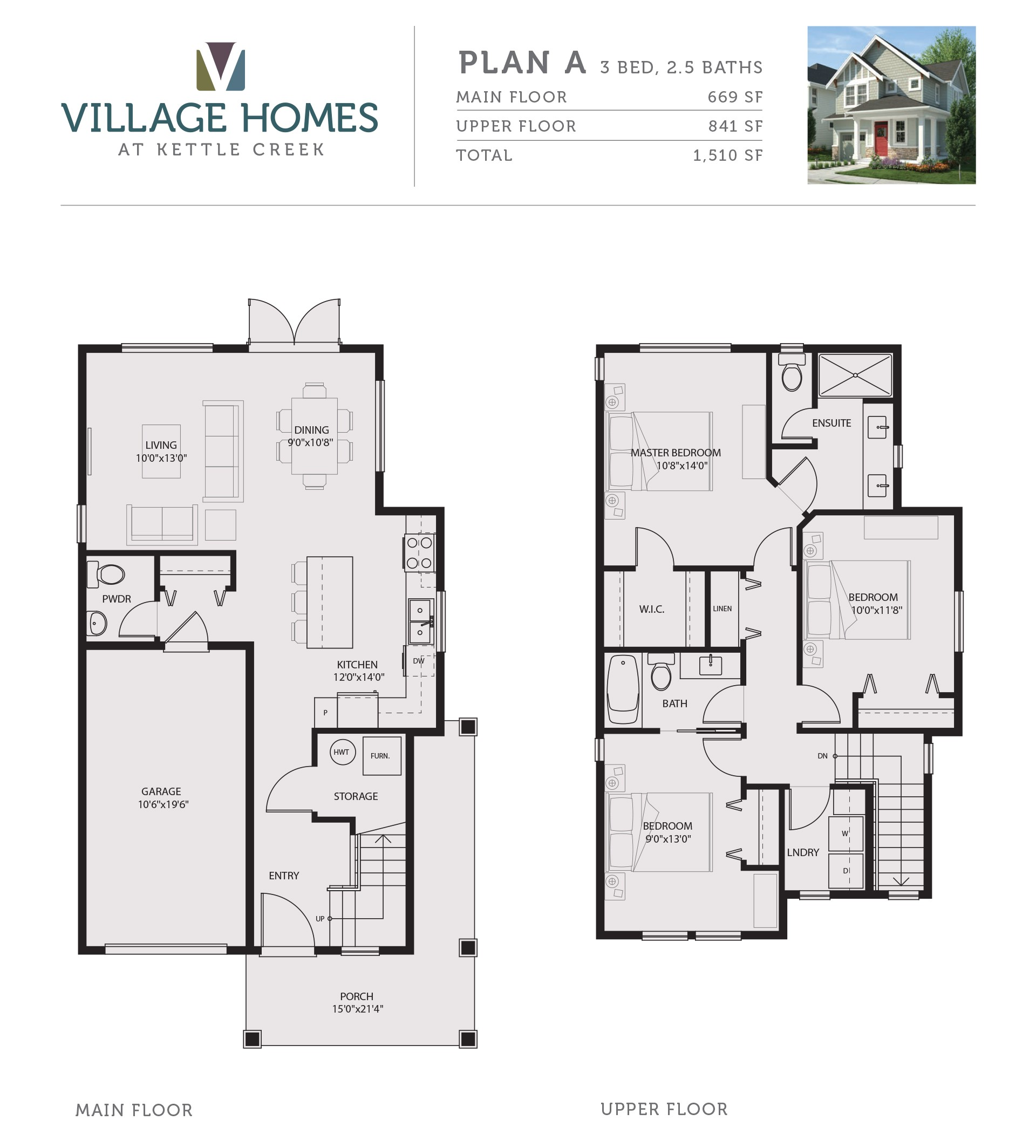 Village Home Plan 4 Floor Plans Starting 379k From Village Homes Langford