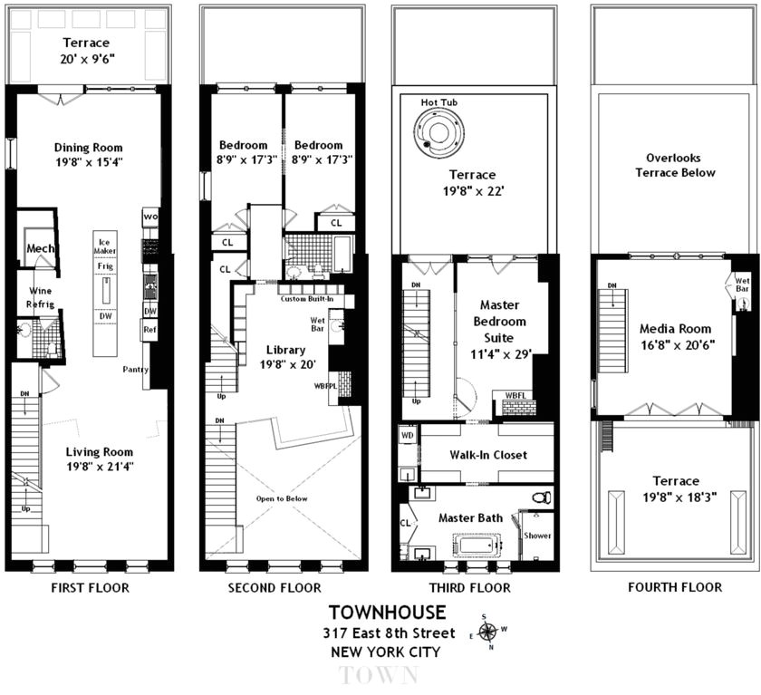 village homes floor plans