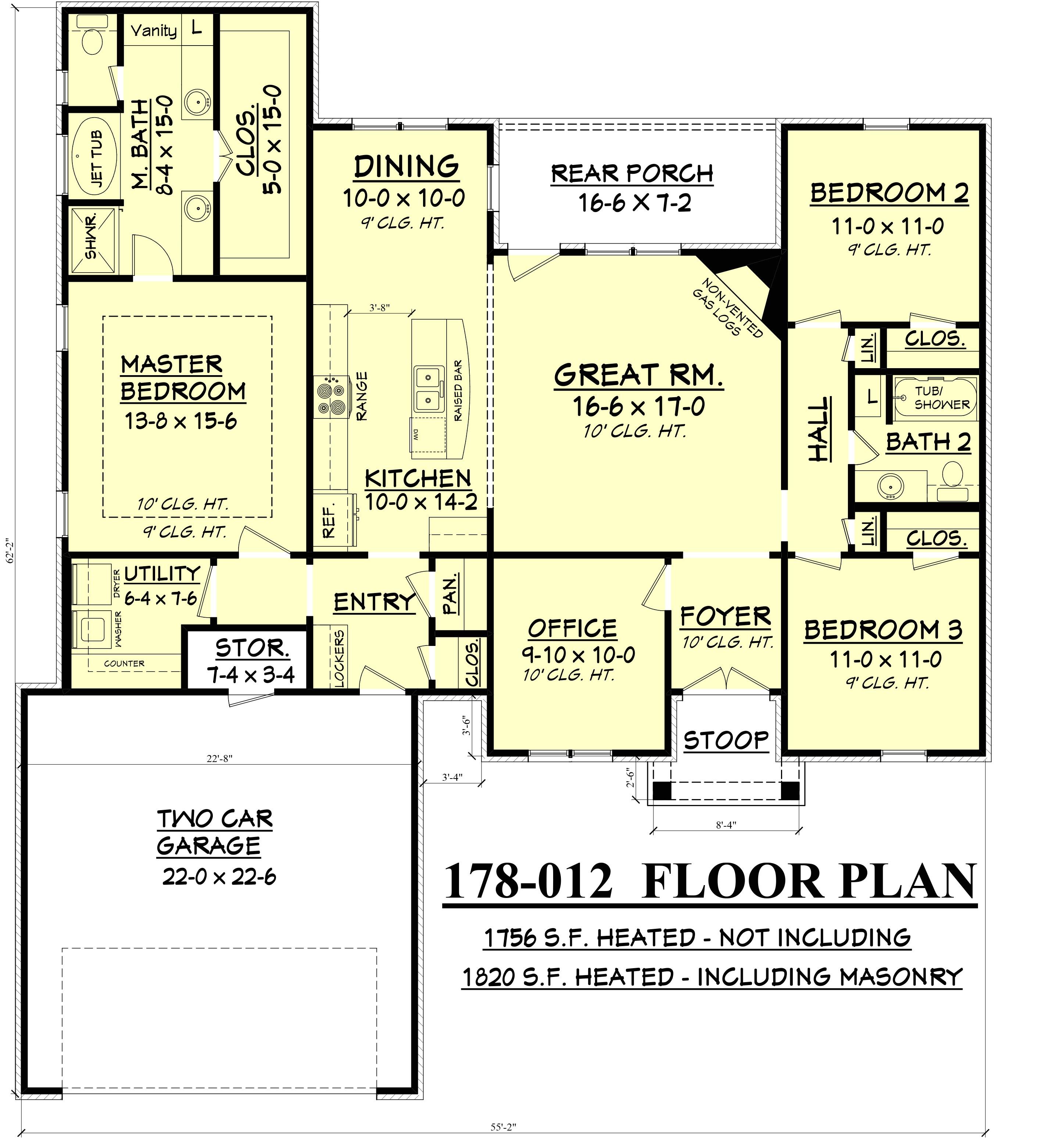 village homes floor plans