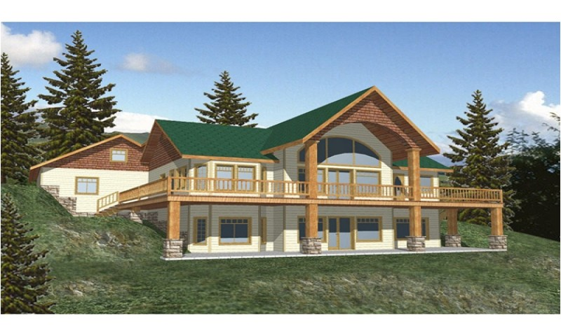 Walk Out Basement House Plans Small Small House Plans with Basement Walkout Basement House