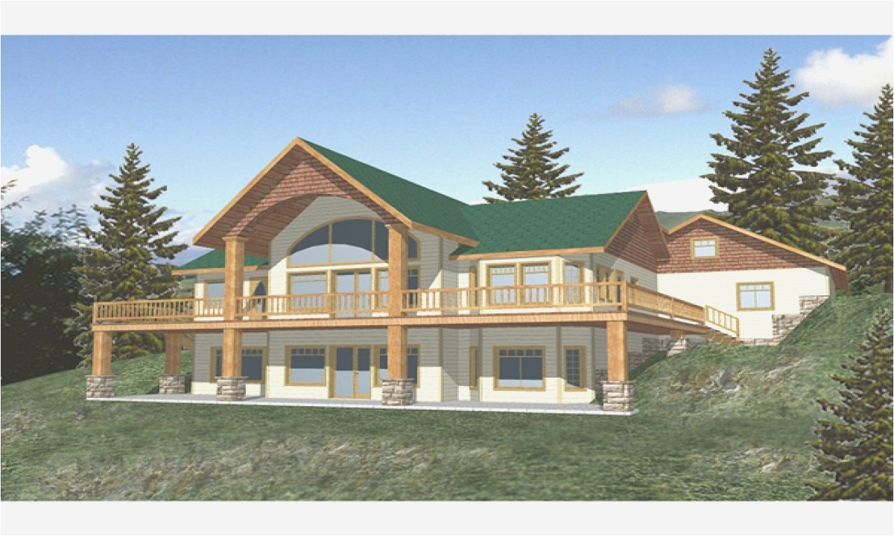 craftsman house plans with walkout basement