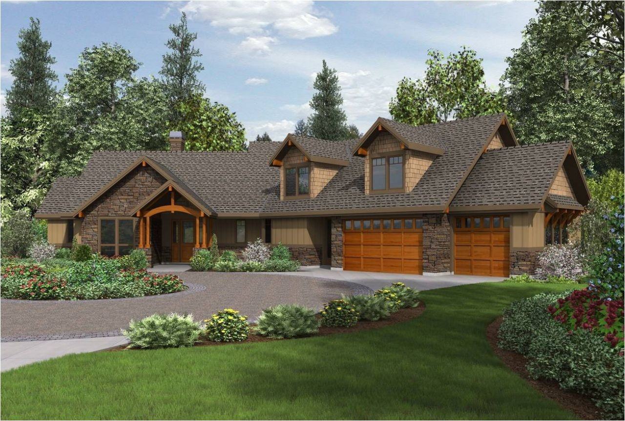 craftsman ranch house plans with walkout basement 0fc94f010d5277ae
