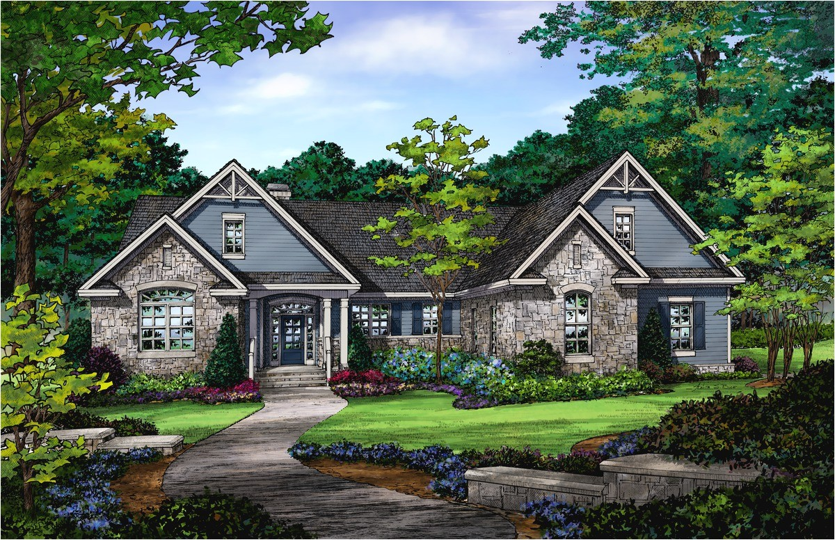 walkout ranch house plans style