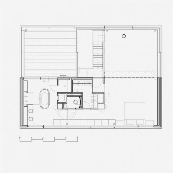 modern house big open views trough glass wall rieteiland house