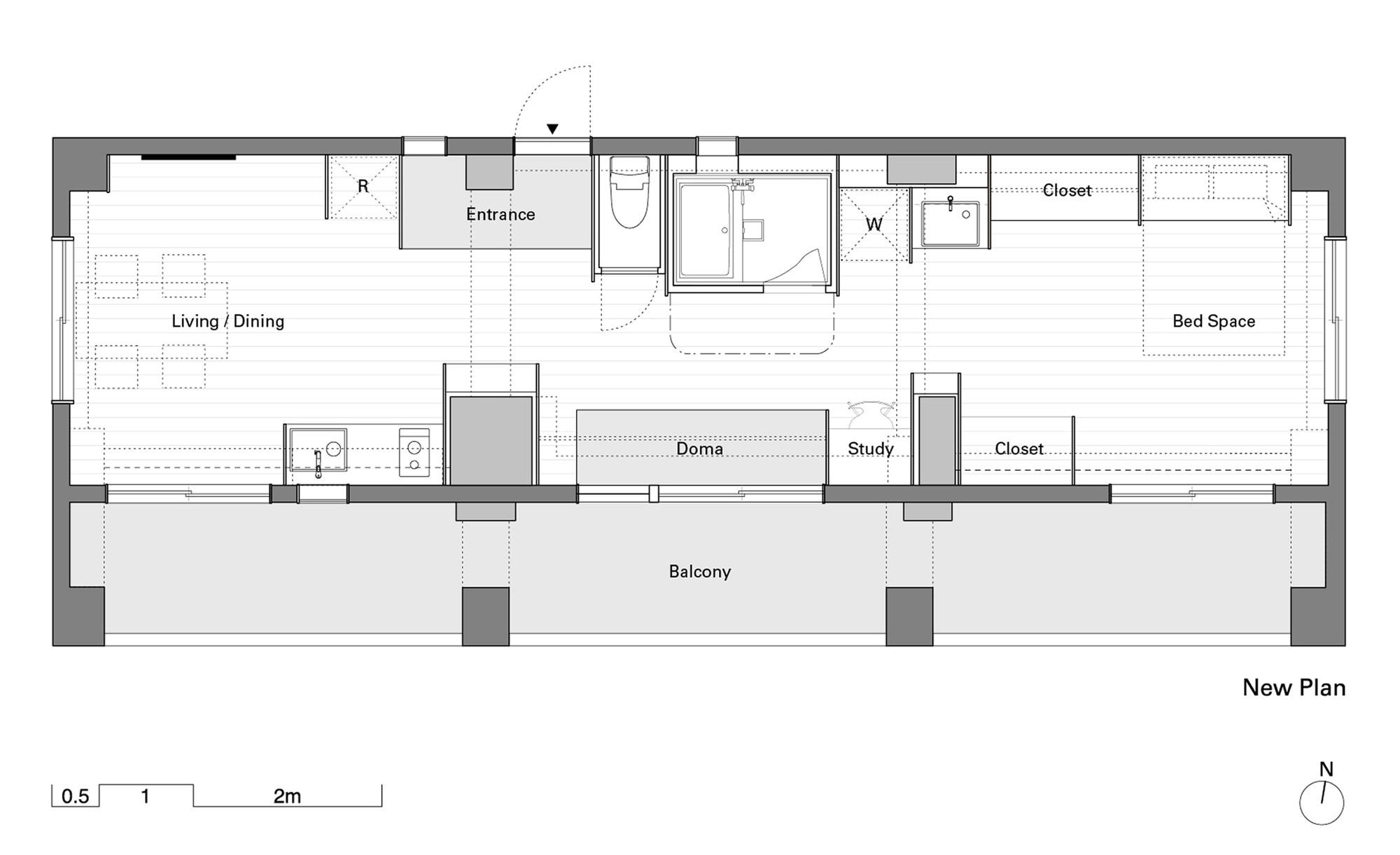 wing wall house camp design inc sumosaga fudosan