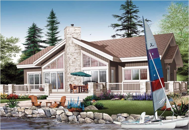 Water Front Home Plans Lakefront House Plans with Pictures Joy Studio Design
