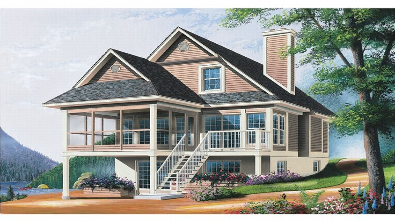 Water Front Home Plans Waterfront Homes House Plans Lowcountry House Plans
