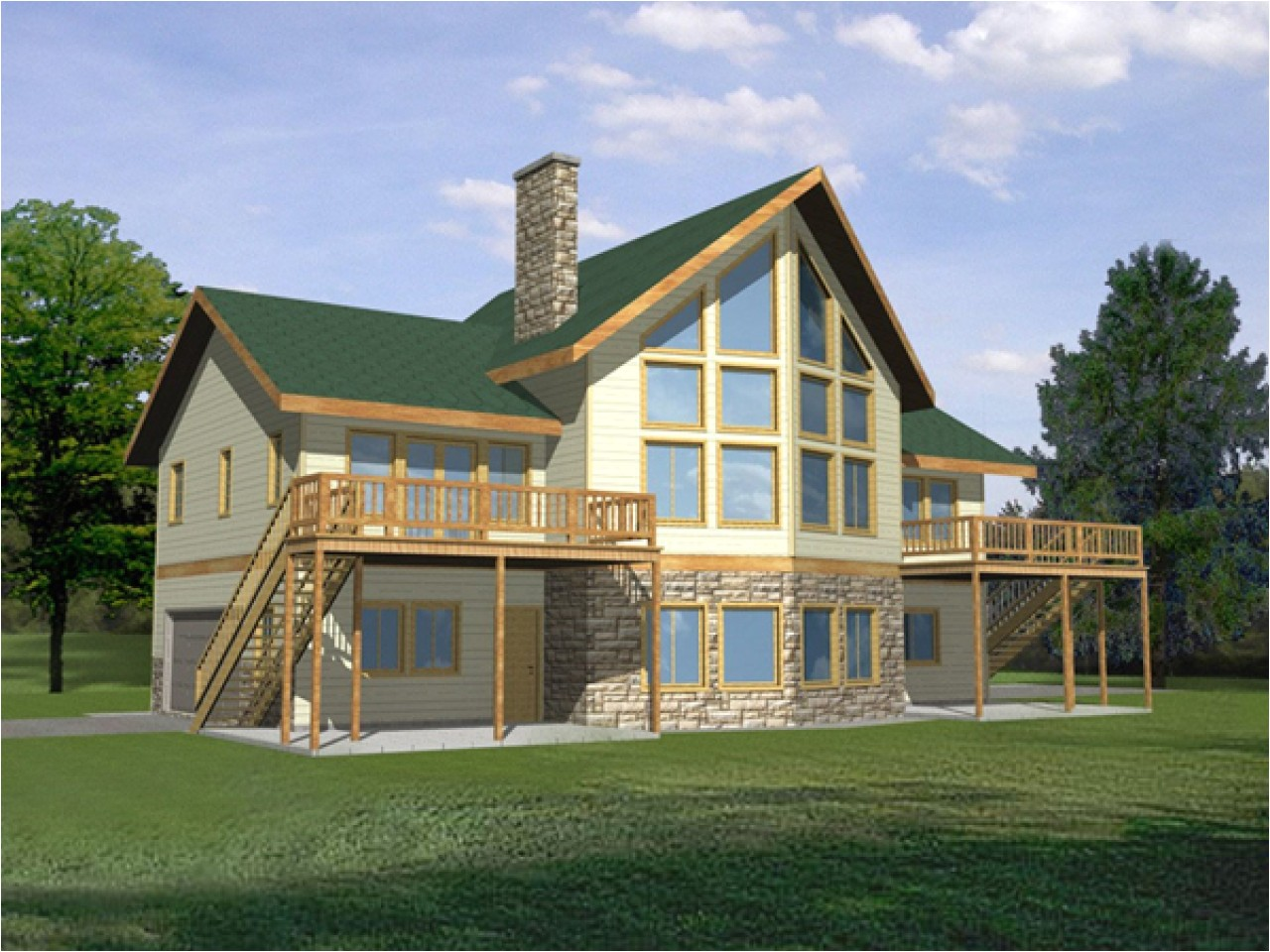 0a58daab89890fe4 waterfront house with narrow lot floor plan waterfront homes house plans