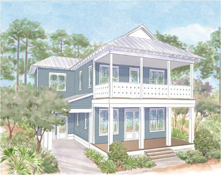 watercolor florida home plans
