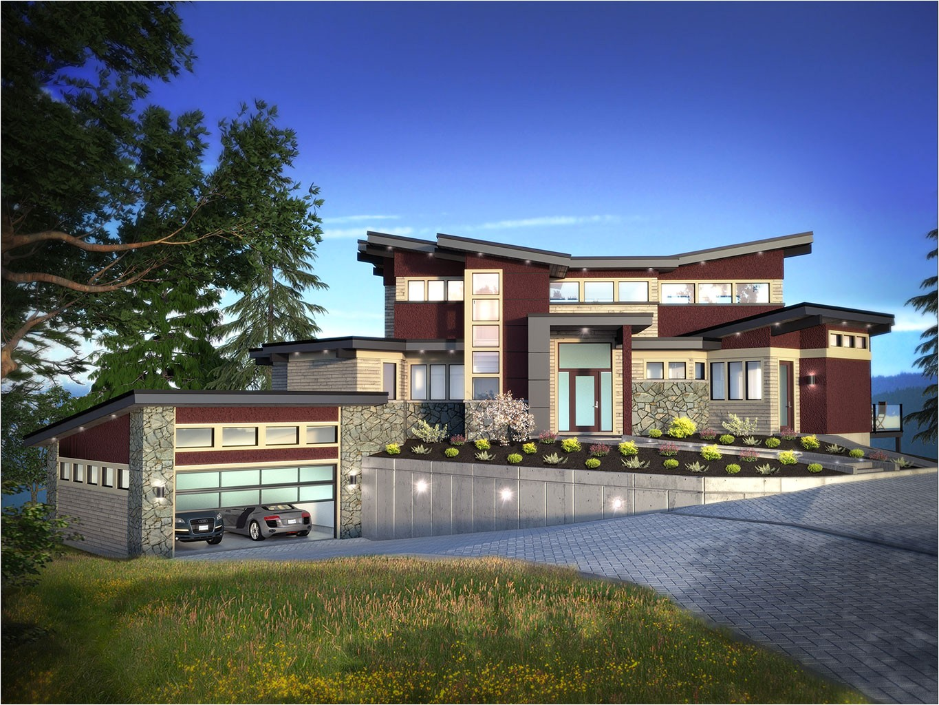 custom home design projects