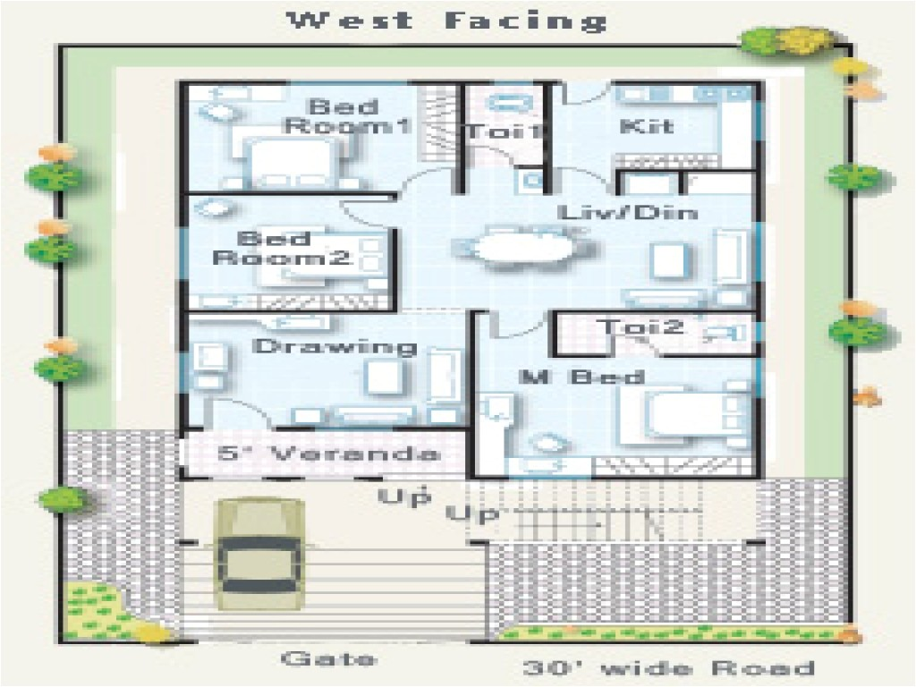 73f30d8a6c16f79e west facing house plan fireplace house plan