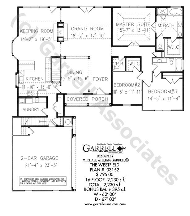 westfield house plan