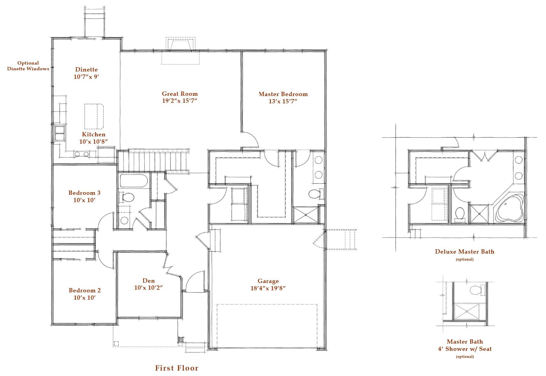 westport homes floor plans