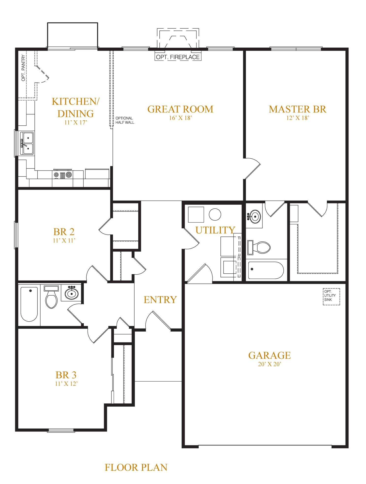 westport homes lafayette floor plan
