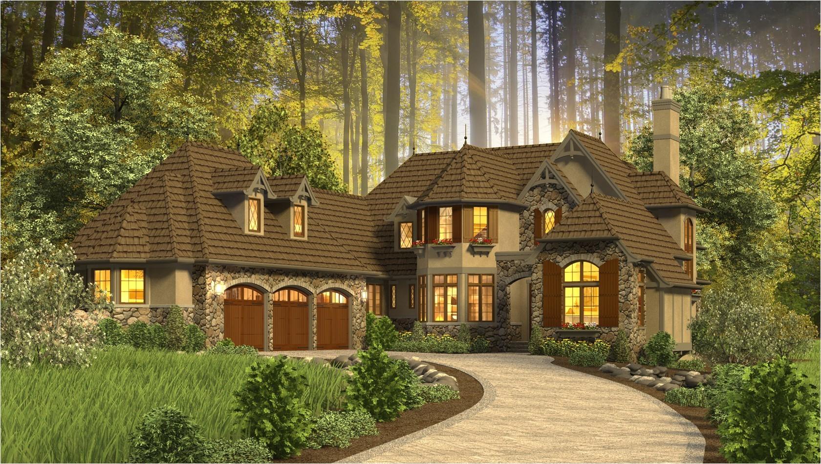 whimsical house plans plan rivendell manor