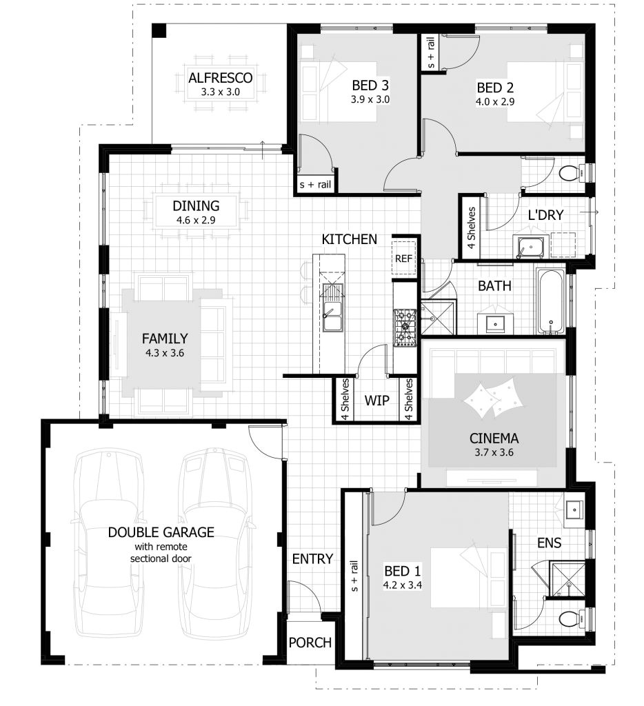 Who Designs House Plans Large 3 Bedroom House Plans Luxury Over 35 Large Premium
