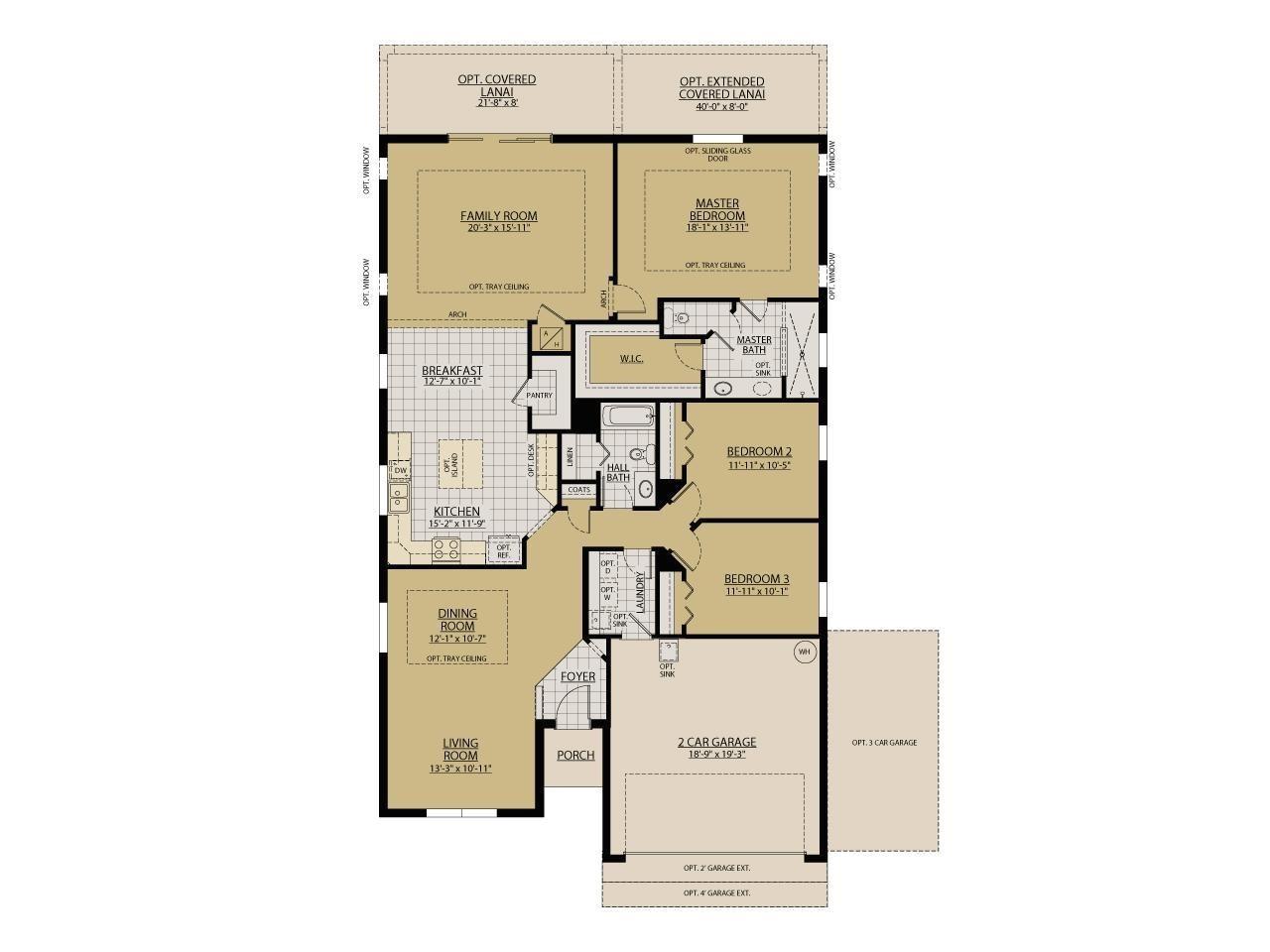 william ryan homes floor plans elegant the sanibel floor plans william ryan homes