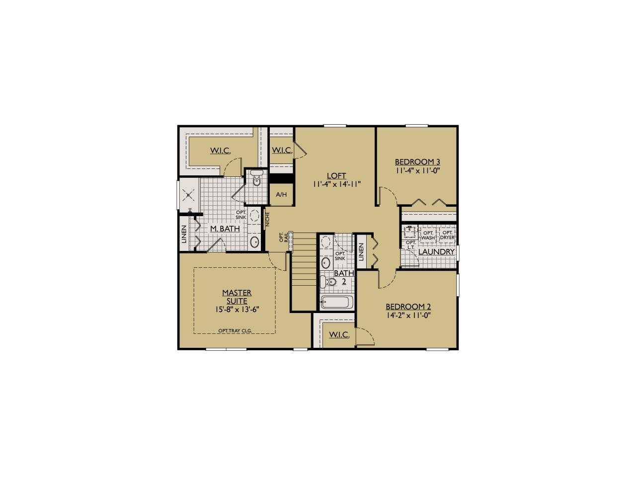 william ryan homes floor plans
