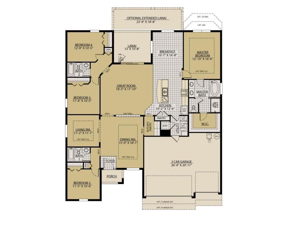 william ryan homes floor plans lovely the sandestin floor plans william ryan homes