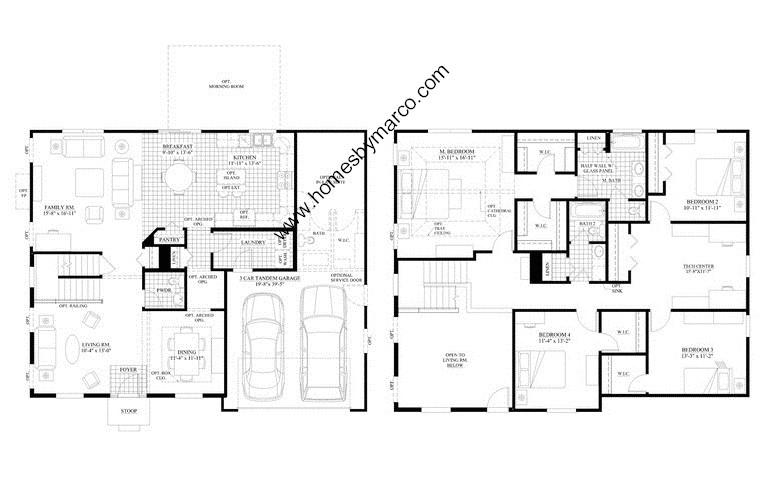 william ryan homes jasper floor plan