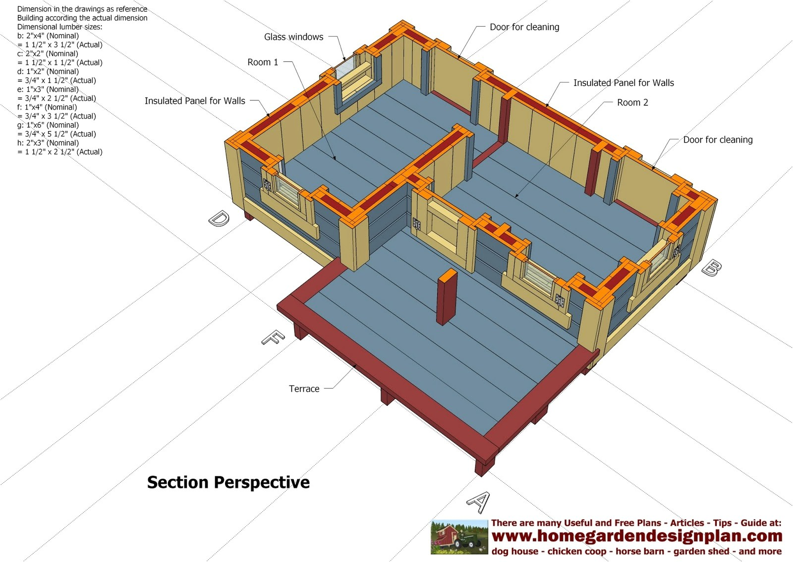 dh303 dog house plans dog house design