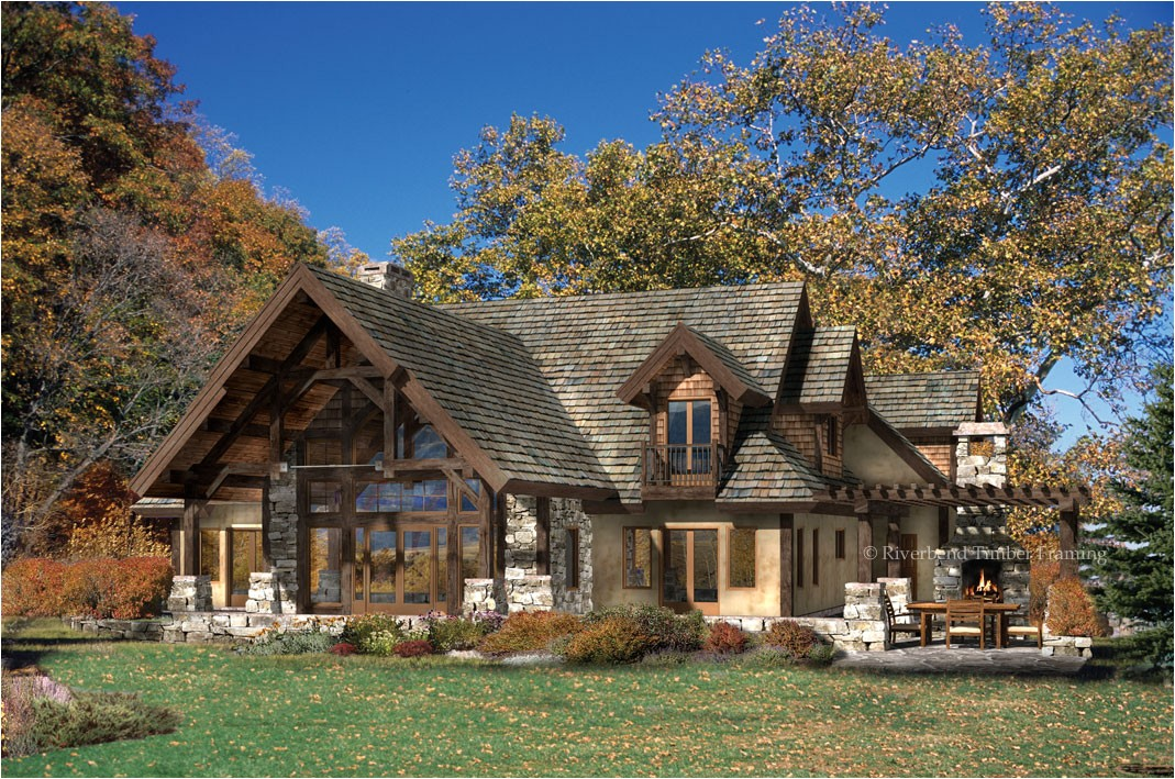 luxury timber frame house plans