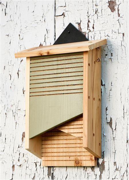 wooden bat house plans