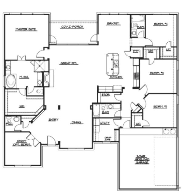 floorplan willow wood belmont custom estates by woodside homes 322 regent circle plan 817b 1001 4766 cfm
