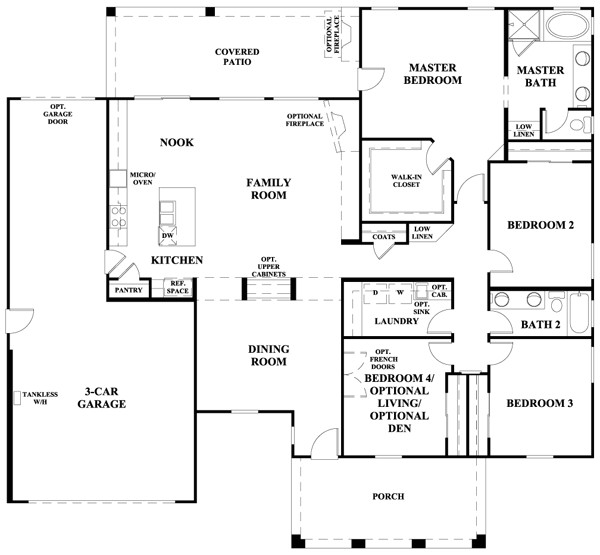 floorplan havenwood estates napa 1010 4809 cfm