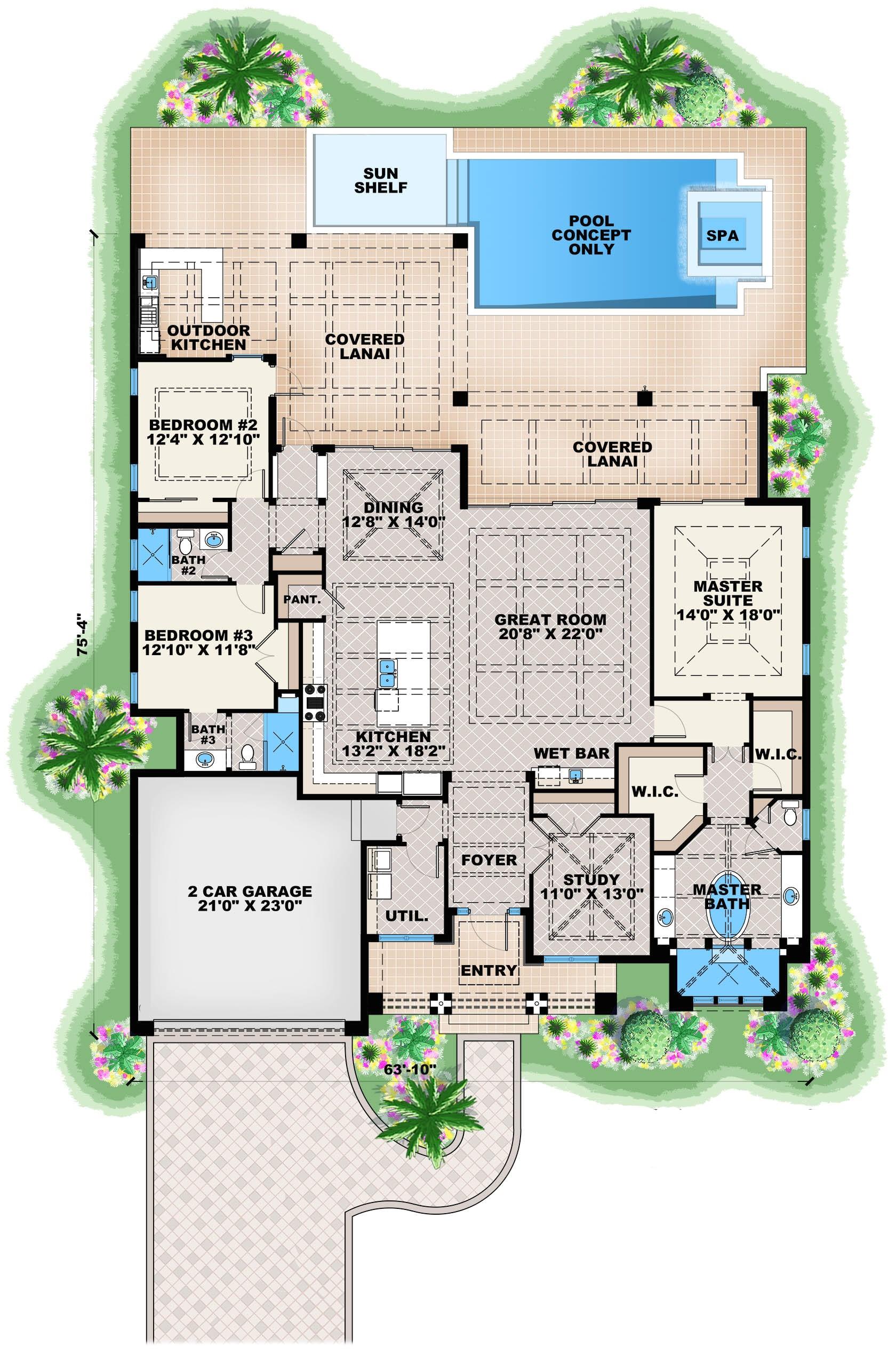 home plan 28850