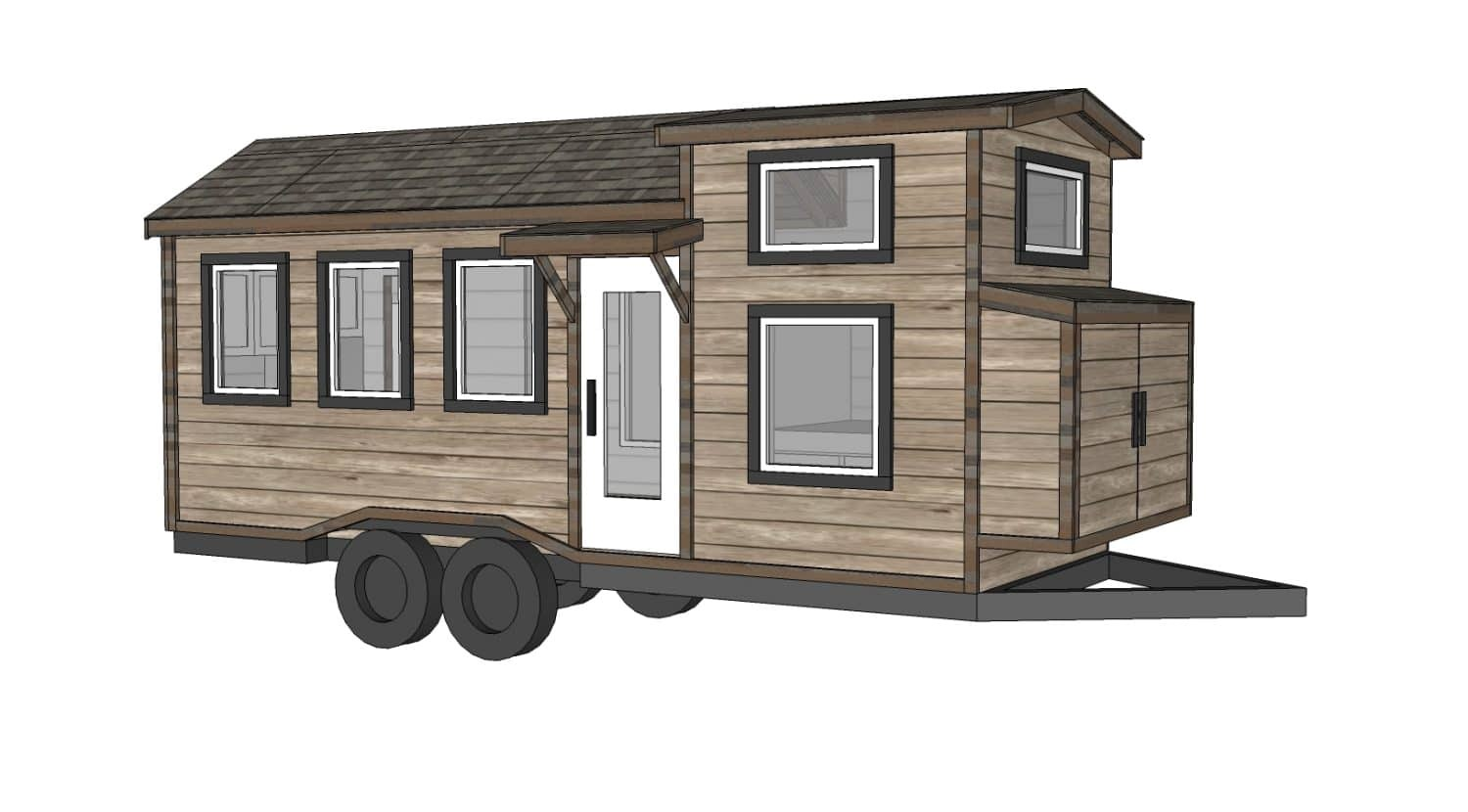 construire sa propre tiny house plans gratuits