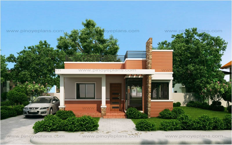 rommell one storey modern with roof deck
