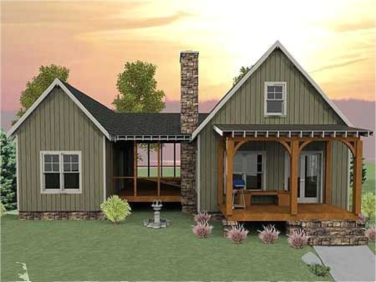9b72c4029cb0c04a small house plans with screened porch small house plans with basement