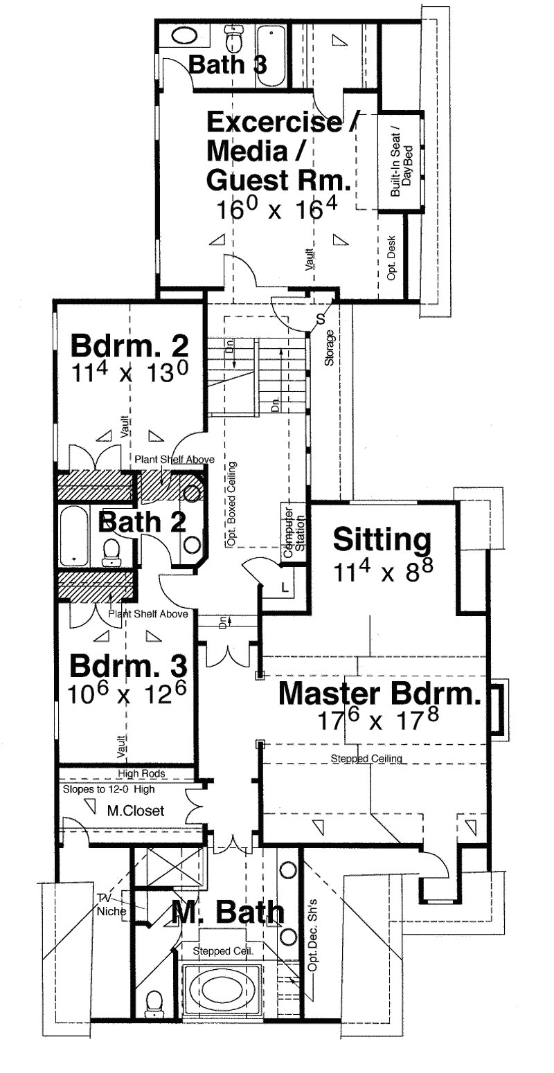 narrow zero lot line house plans