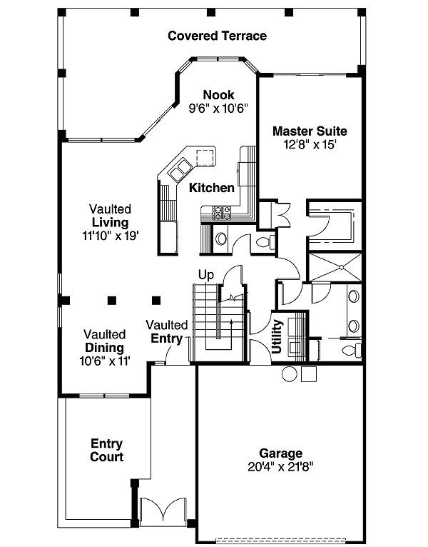 mediterranean house plan 72028da
