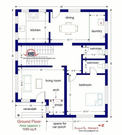 1000 Sq Ft House Plans 3 Bedroom Indian Style 3 Bedroom House Plans Indian Style Luxury 1000 Sq Ft House