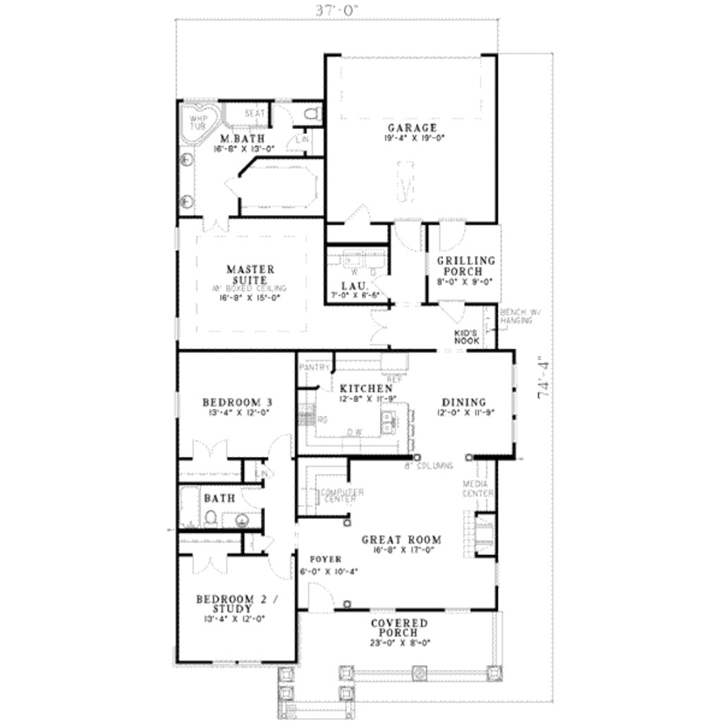 1150 Sq Ft House Plans Tudor Style House Plan 3 Beds 2 Baths 1933 Sq Ft Plan