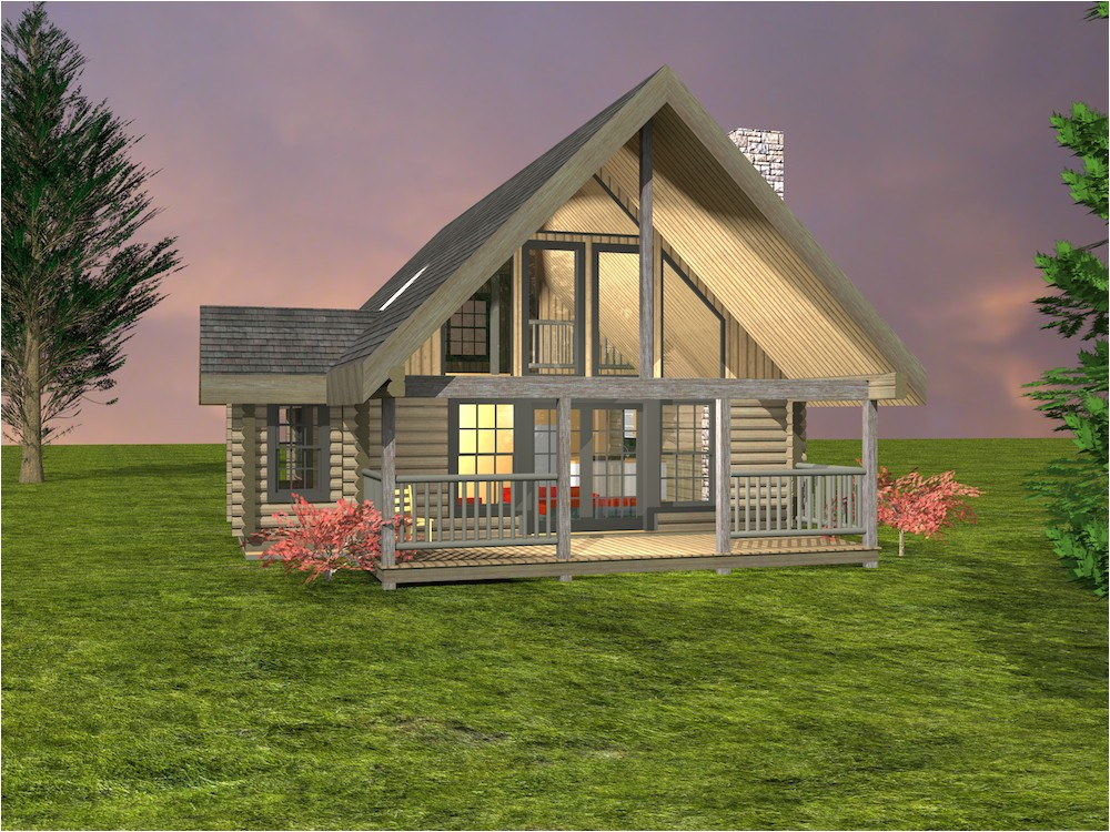 tranquility log cabin