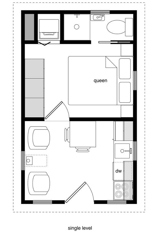 12x24 tiny house plans