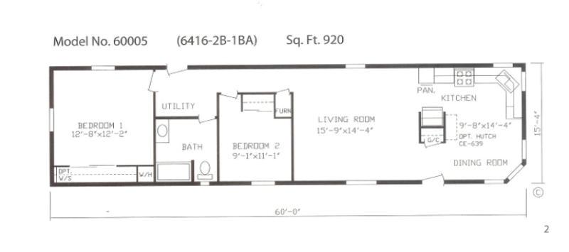 16x60 mobile home mobile homes