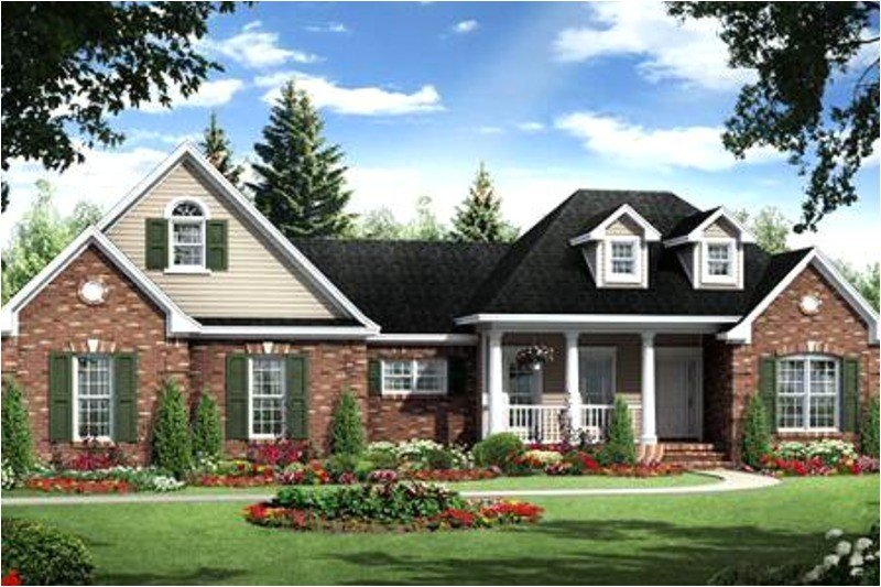 1800 square feet 3 bedrooms 2 bathroom country house plans 2 garage 31123