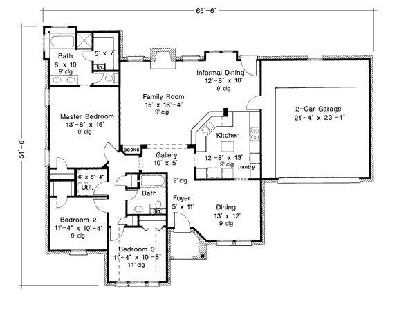open concept house plans