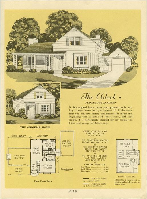 1940s house plans