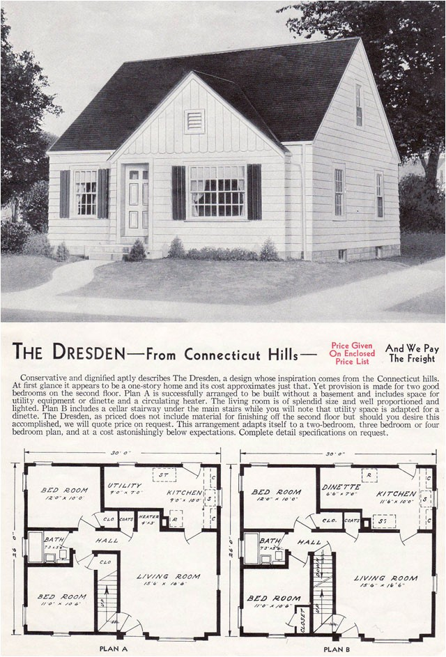 styles of 1940s houses
